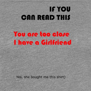 Girlfriend shirt - Women's Premium T-Shirt