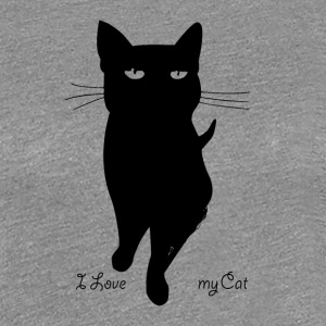 i_love_my_cat - T-shirt Premium Femme