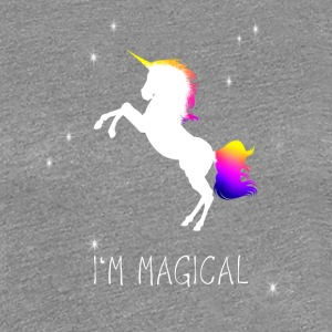unicorn unicorn magic magical fairy princess wish - Women's Premium T-Shirt