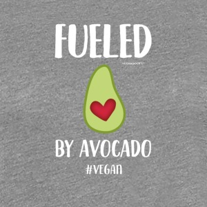 Fueled By Avocado - Frauen Premium T-Shirt