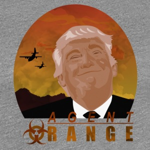 trumf Agent Orange - Premium T-skjorte for kvinner
