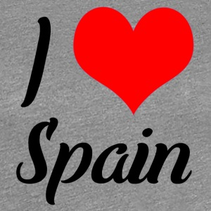 I love Spain - Frauen Premium T-Shirt