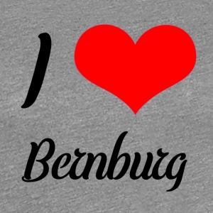 I love Bernburg - Frauen Premium T-Shirt