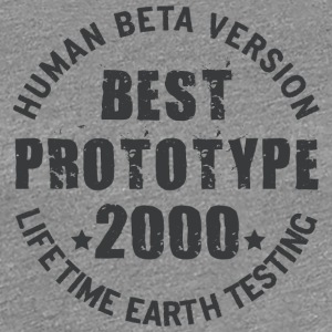 2000 - The birth year of legendary prototypes - Women's Premium T-Shirt
