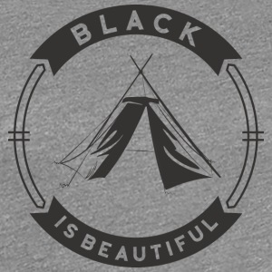 black_is - Women's Premium T-Shirt