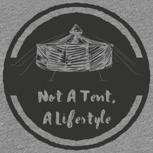 not_a_tent_jurte - Women's Premium T-Shirt