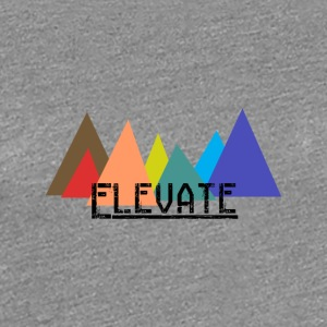 Elevated to the Mountains - Women's Premium T-Shirt