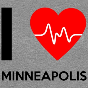 I Love Minneapolis - I Love Minneapolis - Women's Premium T-Shirt