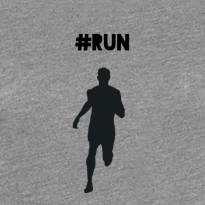 #RUN - Premium T-skjorte for kvinner