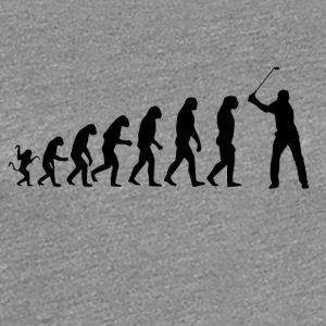 Golf Evolution Tshirt - Frauen Premium T-Shirt