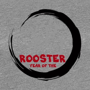 Kinesisk År for The Rooster - Dame premium T-shirt