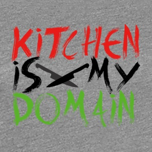 Kitchen is my territory - Women's Premium T-Shirt