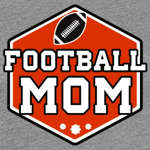 Football Mom - Frauen Premium T-Shirt