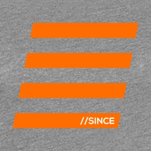 Orange bars - Women's Premium T-Shirt