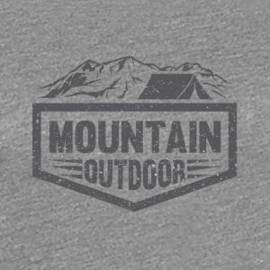 Mountain Outdoor - Premium-T-shirt dam