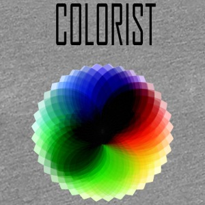 Colorist color wheel - Women's Premium T-Shirt