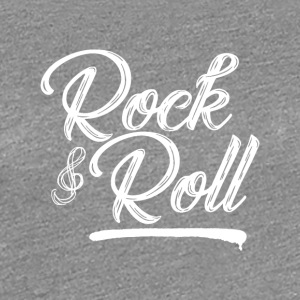 Rock and Roll - Música - Camiseta premium mujer