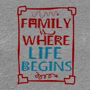 Family - My Life - Frauen Premium T-Shirt