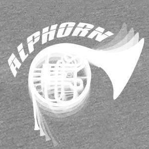 Blow - Alphorn - Music! - Frauen Premium T-Shirt