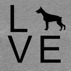 Dog Love 6 - Frauen Premium T-Shirt