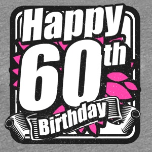 60 Birthday - Congratulations gift - Women's Premium T-Shirt