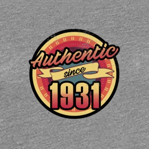 Gift for the 86th birthday - vintage 1931 - Women's Premium T-Shirt