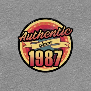Gift for the 30th birthday - vintage 1987 - Women's Premium T-Shirt