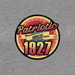 Gift for the 90th birthday - vintage 1927 - Women's Premium T-Shirt