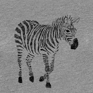 Zebra Zentangle - Frauen Premium T-Shirt