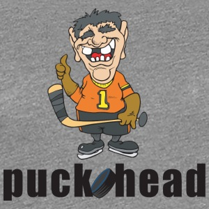 Hockey Puck Head - Women's Premium T-Shirt