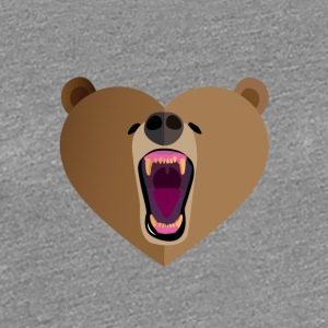 Grizzly Amour - T-shirt Premium Femme