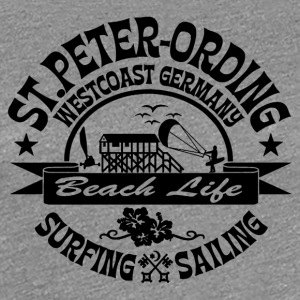 Ording Beach Logo - Frauen Premium T-Shirt