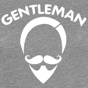 GENTLEMAN 6 white - Women's Premium T-Shirt