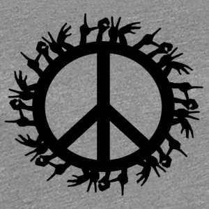 ++Love & Peace++ - Frauen Premium T-Shirt