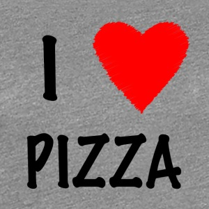 I Love Pizza - Frauen Premium T-Shirt