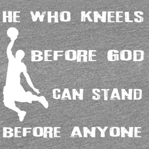 Basketball God - Frauen Premium T-Shirt