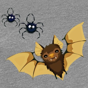Spider and bat - Women's Premium T-Shirt