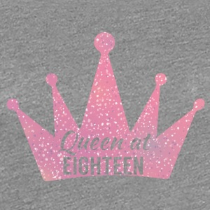 18th Birthday: Queen bij Eighteen - Vrouwen Premium T-shirt
