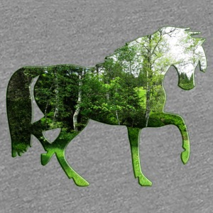 forest horse - Women's Premium T-Shirt