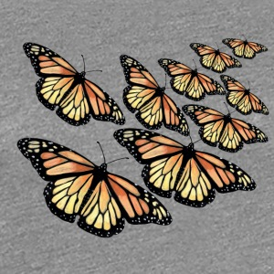 Monarch Butterfly - Swarm - Premium T-skjorte for kvinner