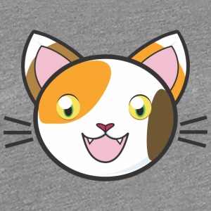 Comic Manga Cat Kitty Mitz kitten sweet meow - Women's Premium T-Shirt