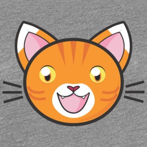 Comic Manga Cat Kitty Mitz killing sød meow - Dame premium T-shirt
