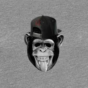 NYE KING MONKEY COLLECTION - Premium T-skjorte for kvinner