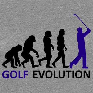 ++ ++ Golf Evolution - Dame premium T-shirt