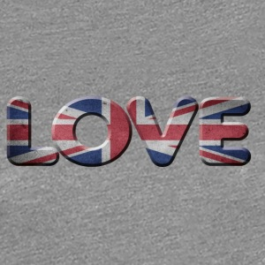 I LOVE ENGLAND GREAT Britian - Premium T-skjorte for kvinner