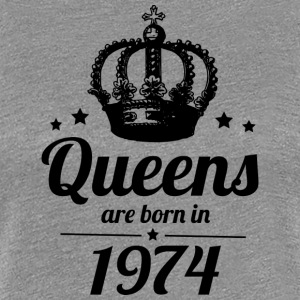 Queen 1974 - Frauen Premium T-Shirt