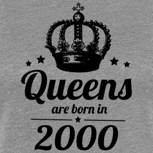 Queen 2000 - Frauen Premium T-Shirt