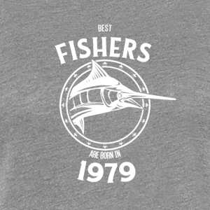 Present for fishers born in 1979 - Women's Premium T-Shirt