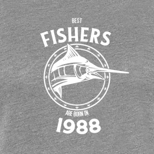 Present for fishers born in 1988 - Women's Premium T-Shirt
