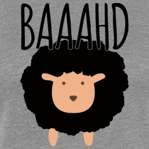 Sheep / farm: Baaahd - Women's Premium T-Shirt